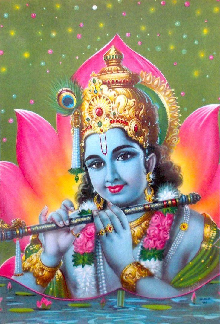 Lord Krishna Playing Murlidhar