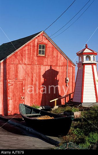 CANADA Nova Scotia Halls Harbor Interpretive center Halls Harbor Fishing Village near Wolfville, 2008