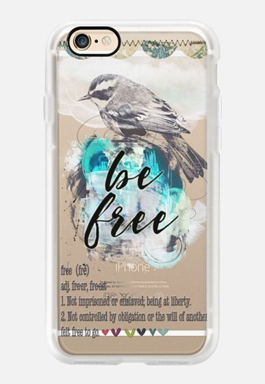 Be free Casetify iPhone 7 Case and Other iPhone Covers - TITLE by Li Zamperini | #Casetify