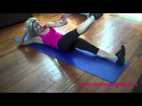 how to get a washboard stomach fast