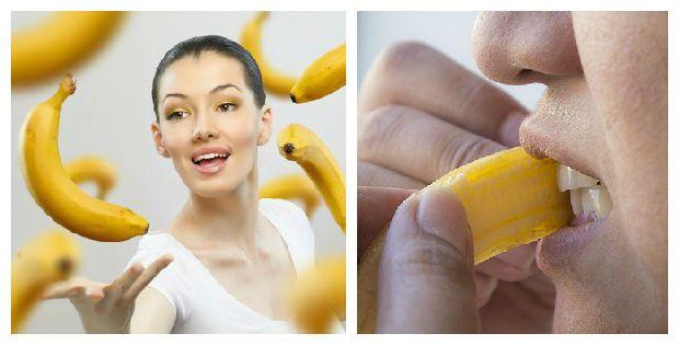usos cascara de banana