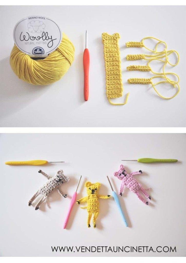 Amigurumi Tutorial Ita : Best idee crochettose cats images on pinterest