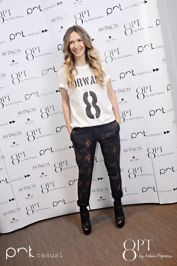 Adela Popescu #PNKForward #8pt #PNKcasual #adelapopescu #fashion #style #cool #streetstyle #event