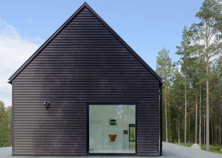 Villa Wallin, Island of Yxlan, Stockholm Archipelago, Sweden - by Erik Andersson Architects