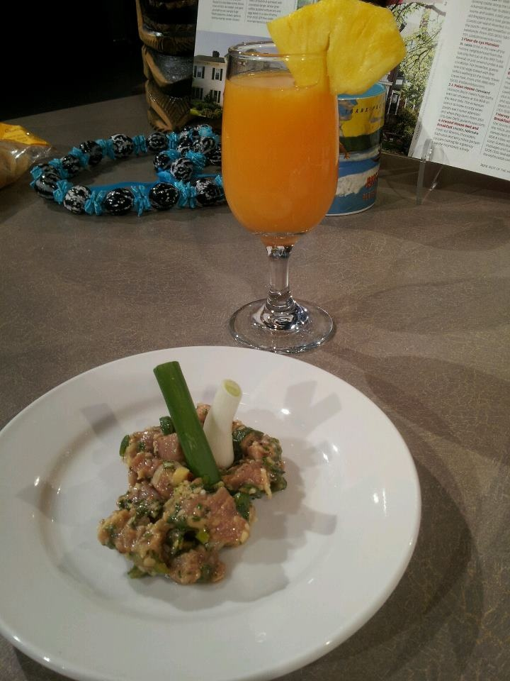 Ahi Poke Inspired Tuna Ceviche with Orange, Guava and Pineapple Juice ...