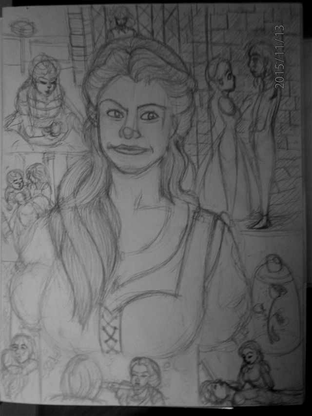 Belle ONCE UPON A TIME :)