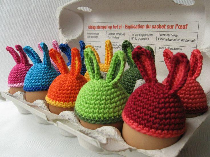 Eierwarmers konijnenoortjes