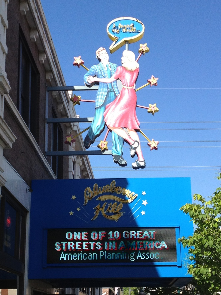 Blueberry Hill is the St. Louis home of Chuck Berry and Rock N' Roll