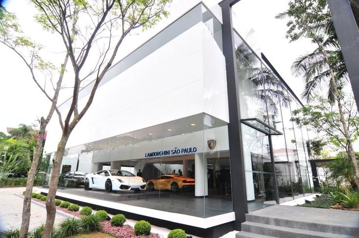 Lamborghini Dealership.
