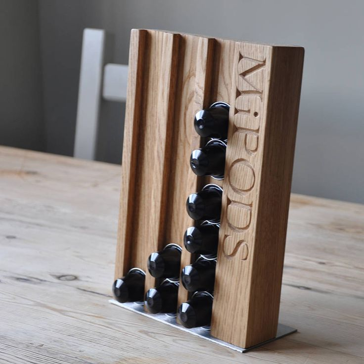 Display your coffee pods beautifully