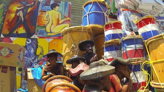 Colorful Drums - Santo Domingo, Dominican Republic