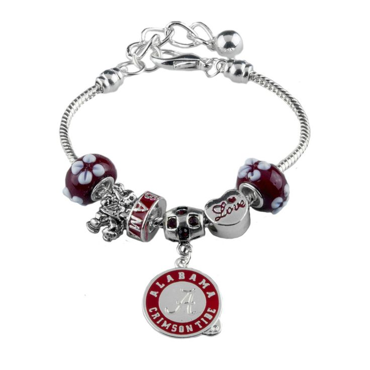Alabama Charm Bracelet: 36 Best Alabama Crimson Tides Handbags & Jewelry Images On