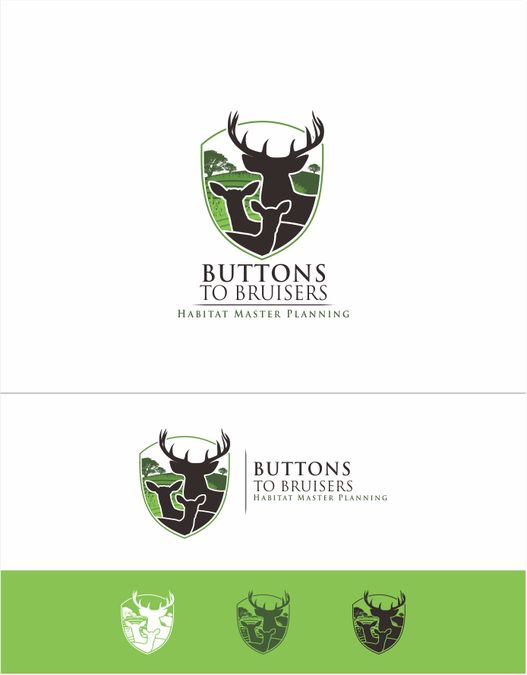 Create a logo about whitetail deer for habitat management consultant. by Yogie Ismanda