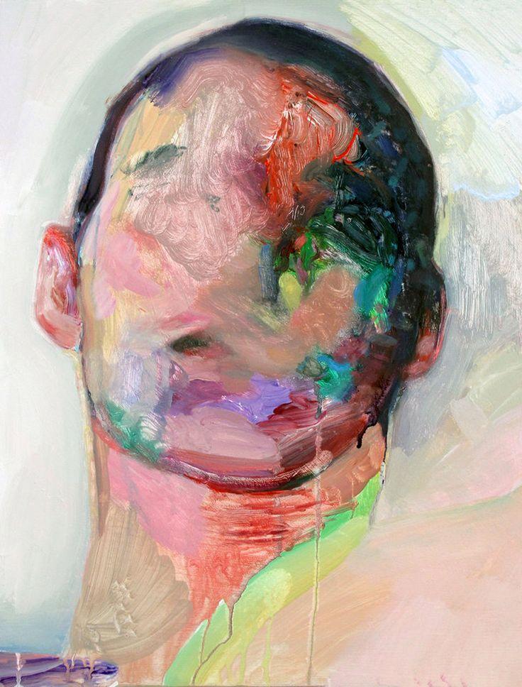 Winston Chmielinski - face painted melting