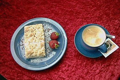 Streuselkuchen mit Ruehrteig