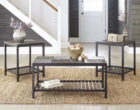 As The Chelner Coffee Table Set Proves, You Can Be Both Down To Earth And