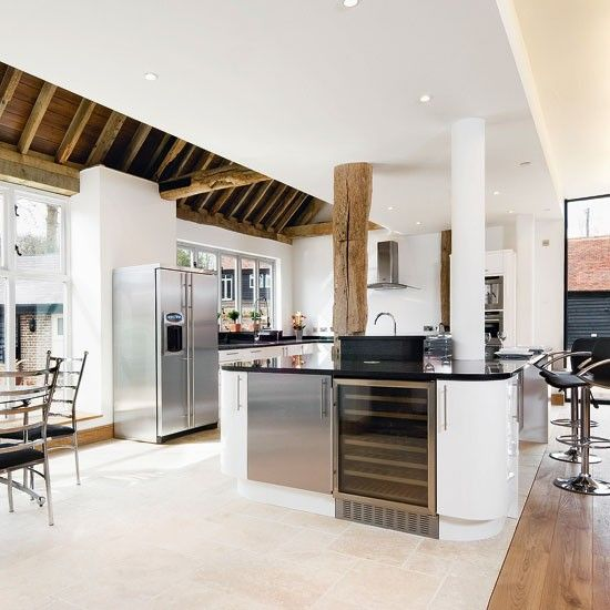 37 best images about modern kitchen extensions on for Extension to kitchen ideas