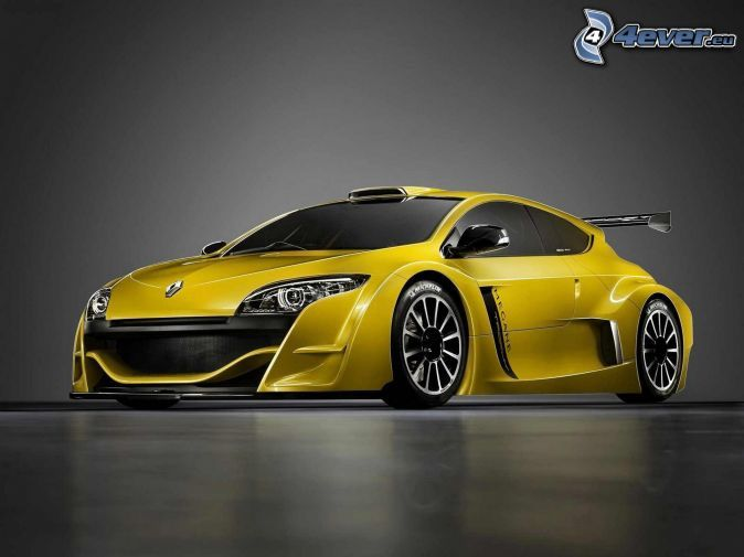 Renault Megane Trophy, sportovní auta