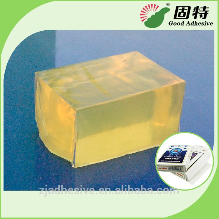Hot selling playing card packing box hot melt adhesive