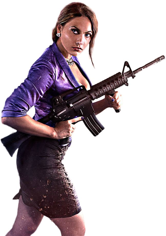 Saints Row IV - Shaundi Render 2 By Ashish Kumar