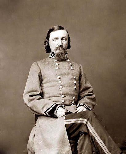 Major General George E. Pickett, C.S.A. by Fred Hall, via Flickr