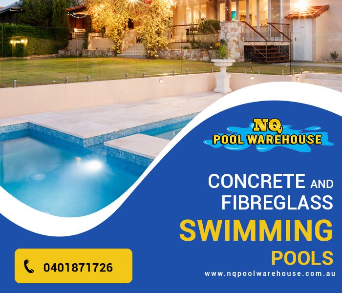 For fiberglass pools, NQ Pool Warehouse is the best facility to approach and the reason being is our two decades of impressive industry experience. Been one of the most experienced swimming pool specialists in Townsville, we take care of what matter the most in swimming pool building and they are such as, location analysis, circulation system and easy maintenance. Besides, we can also offer you some great pricing options that would perfectly fit your pockets. So, call us now on 0401 87 1726.