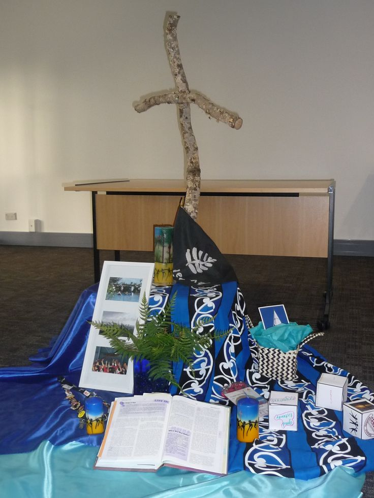 World Youth Day Madrid preparation.   Aotearoa New Zealand fabrics.  Photos of pilgrim spiritual preparation.