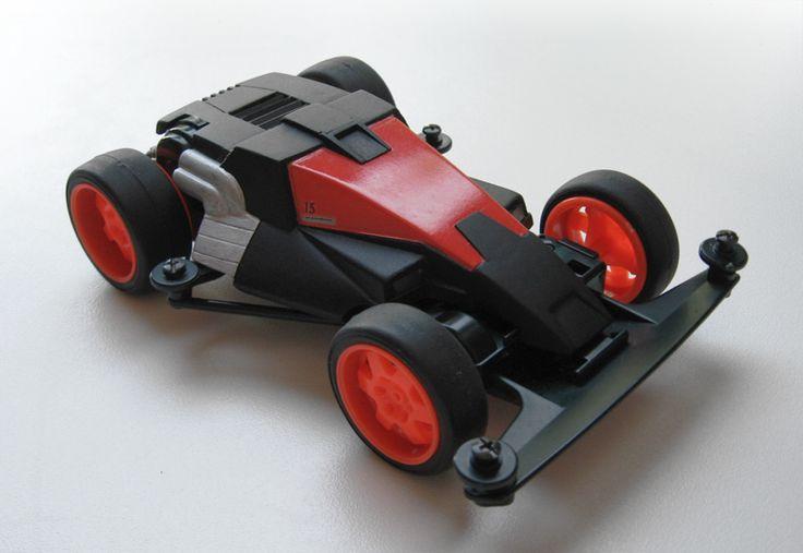 Dash X1 Proto Emperor restyled by Aran   Mini 4WD   #Mini4WD   #Tamiya