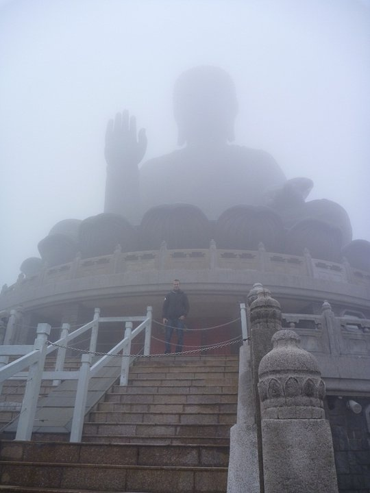 World's Largest Outdoor Buddah  @ Po Lin Monastery in Hong Kong