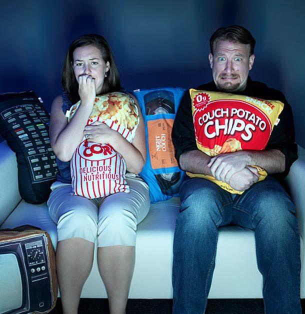 Movie Night – Les coussins pour les soirées télé