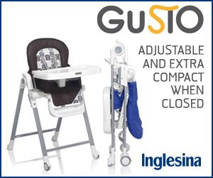 Great, Compact High Chair By Inglesina! #baby #highchair #babyregistry
