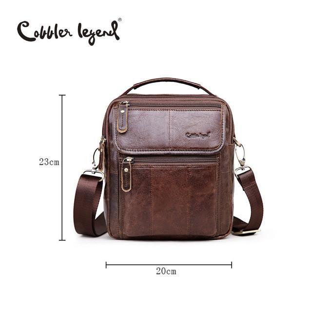 Men Leather Business Bag   Furrple
