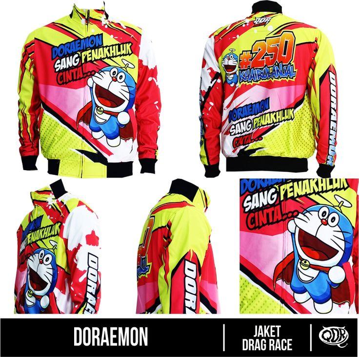 Jaket Doraemon Bahan : Lotto Printing: Sublimation Model: Jaket Drag Race  Bahan dan Pola yang nyaman dipakai sehari hari, motif dan hasil printing yang tajam, cerah dan tidak luntur.  Fast respon WA/Sms no call: 081222970120 PIN BB : D5443117