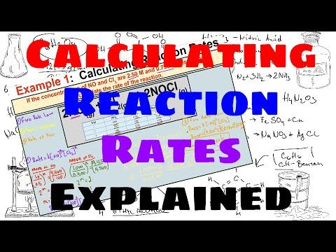 Calculating Reaction Rates - Explained