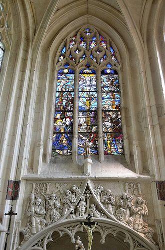 Eglise Saint-Jacques-le-Majeur-et-Saint-Jean-Baptiste .Folleville (Somme) - Picardie