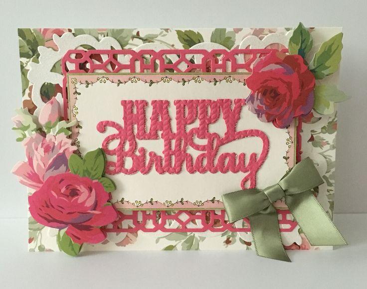 55 best Brenda Walton Sizzix ideas images – Cricut Birthday Card Ideas