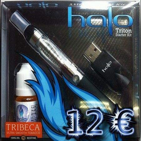 Halo Triton Starter Kit plus free 7ml ELiquid