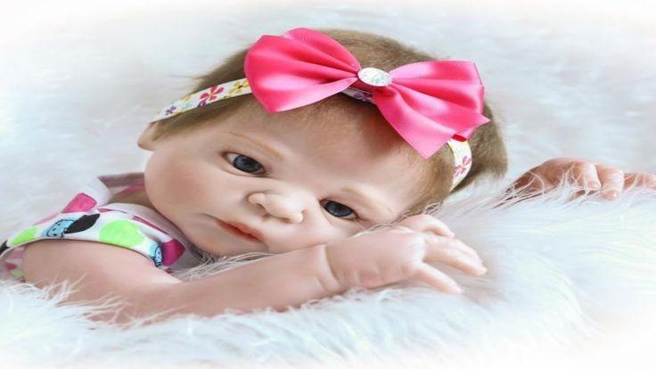 Full Body Silicone Reborn Baby Doll Lifelike Baby Doll Girl Dolls