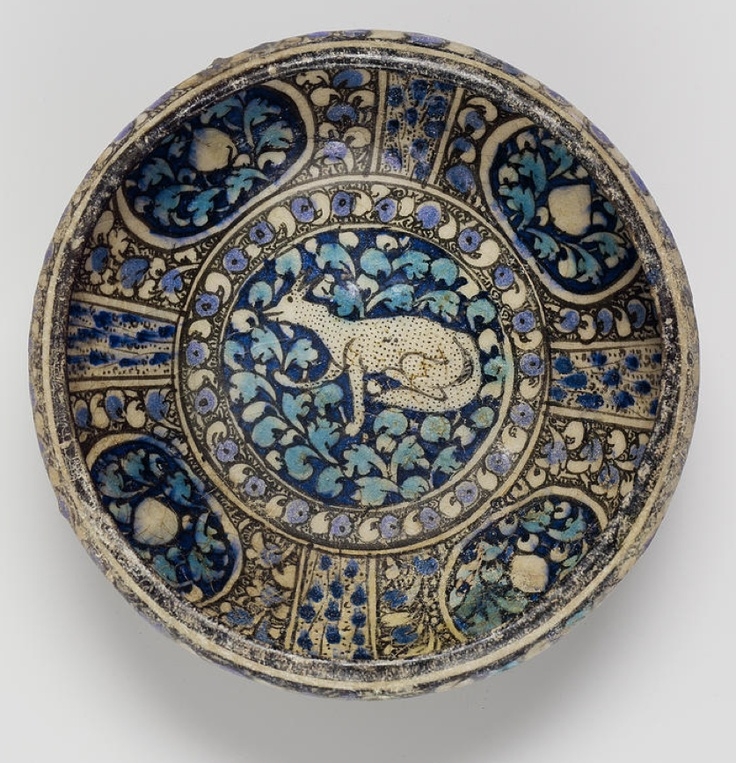 A Sultanabad pottery Bowl   Persia, early 14th Century
