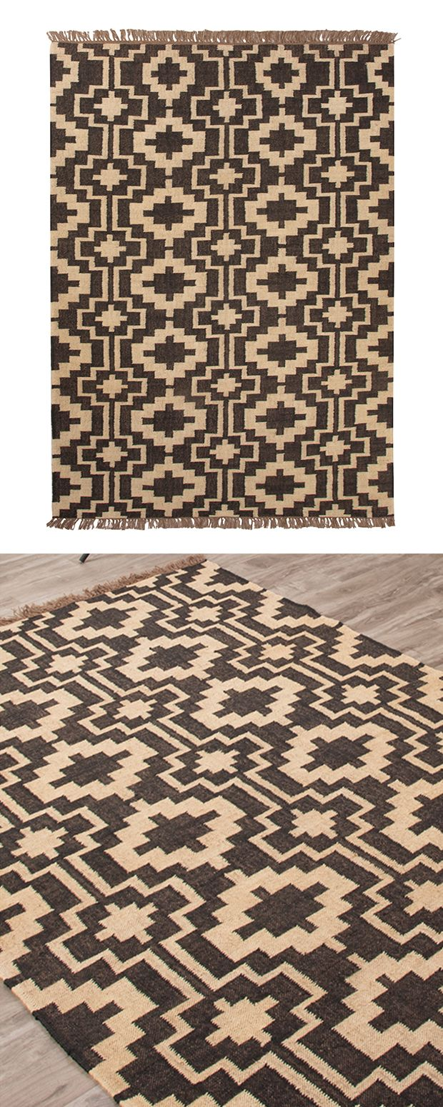 Global home on pinterest - Infuse Your Home With Southwest Inspired Festival Style This Reversible Flat Weave Area