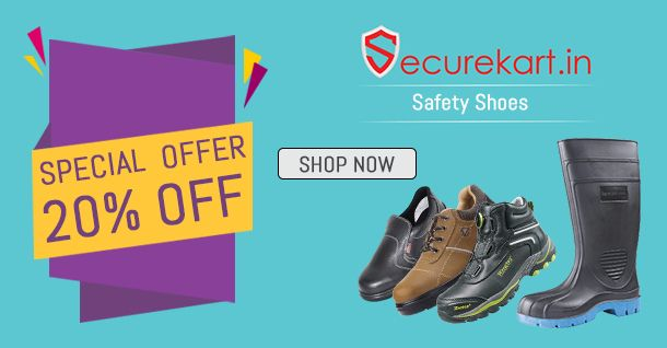 Securekart  online safety shoe stores in India provides a wide range of safety shoes for men & women various brands like karan safety shoes , bata safety shoes  and many more at best price. Find safety shoes price list, dealers, specifications or more. If you want more details please visit our website or contact us.