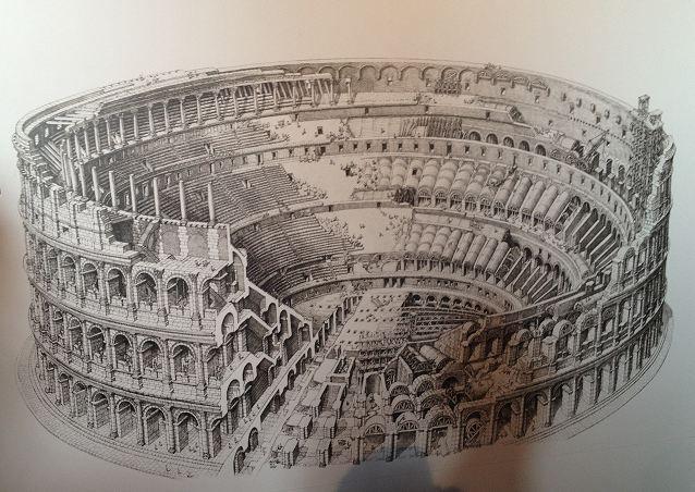 Colosseum Drawing Jpg 638 215 452 Mga Pwedeng Idrawing Or