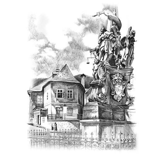 Banská Štiavnica, Stĺp Panny Márie - SLOVAKIA