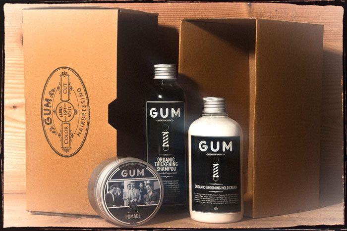GUM Hair Salon from Milan. Great #packaging PD