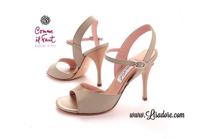Comme Il Faut Shoes. Worlds Finest Argentina Tango Dancing Shoes. Every Month New Models! www.lisadore.com