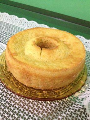 Bolo de Mandioca (Massa Puba | Tortas e bolos > Receitas de Bolo de Mandioca…