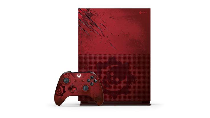 Así es la ed. limitada versión #GearOfWar4 de Xbox One