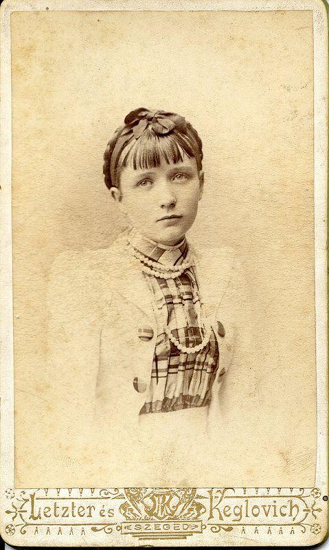 Sad eyed young lady