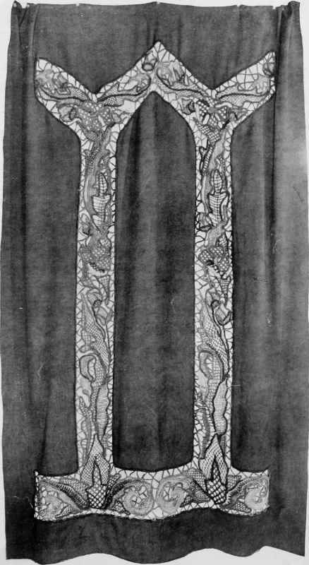 """A Bead Curtain: From the book """"Handicrafts In The Home"""", by Mabel Tuke Priestman, 1910."""