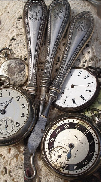 Pocket watches and old silver